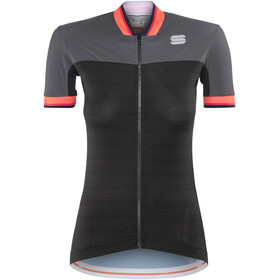 Sportful Grace Bike Jersey Shortsleeve Women grey/black
